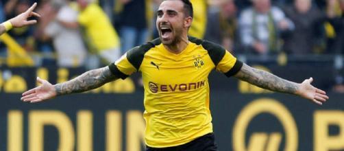 Paco Alcácer la está rompiendo en la Bundesliga de Alemania