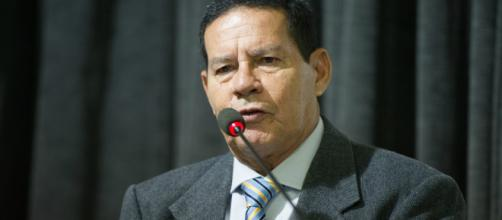 Vice eleito, general Hamilton Mourão