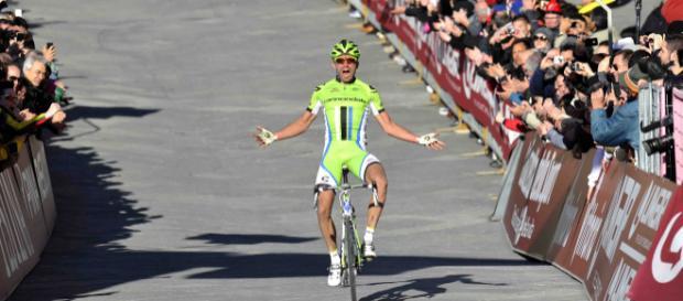 Moreno Moser, la vittoria alla Strade Bianche