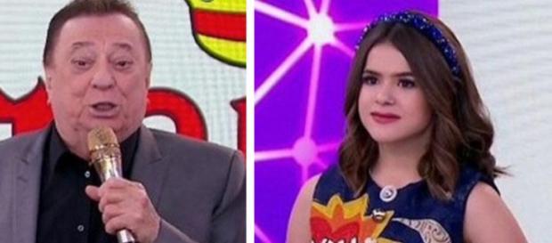 Raul Gil passa mal após falsa notícia de que teria xingado Maísa