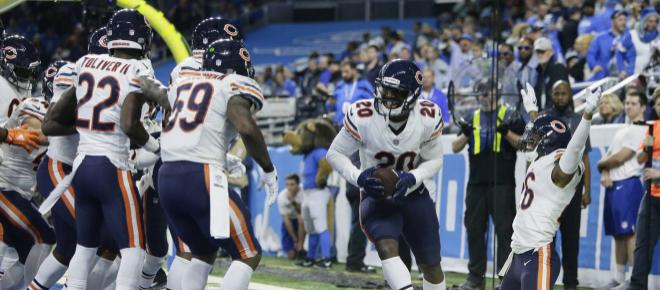 Bears dan golpe en la mesa de la NFC Norte, ganan 23-16 en casa de los Lions