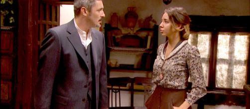 Il Segreto, anticipazioni puntata del 26 novembre 2018: Emilia confessa ad Alfonso di essere stata stuprata in carcere