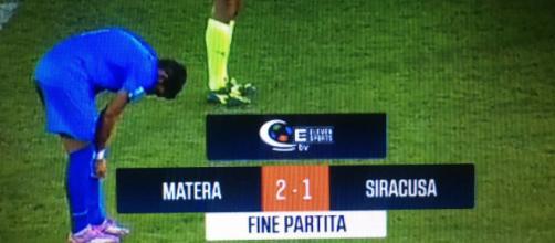 Matera-Siracusa 2-1, video sintesi della gara della 13ª giornata di serie C gruppo C.