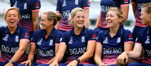 Women's World Cup: England vs Australia live on Sky Sports (Image via ICC/Twitter)