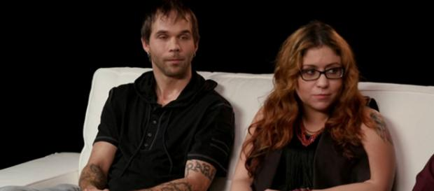 TLC star Sabrina Burkholder (right) has been hit with problems since leaving Mennonite community. [Image Source: TLC - YouTube]