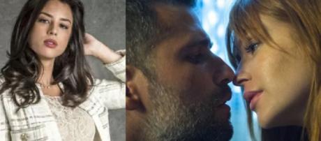 Laura, Gabriel e Luz em O Sétimo Guardião