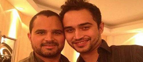Luciano Camargo e o filho, Wesley, expuseram um desentendimento familiar em outubro deste ano