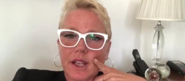 Xuxa divulga vídeo reclamando de empresa contratante