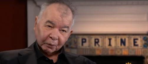 After his battle with cancer, John Prine is at a professional peak and embracing life with new fervor. [Image source: CBSSundayMorning-YouTube]