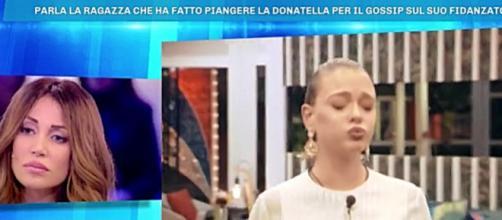 Deianira Marzano su Giulia Provvedi e Pierluigi Gollini. Blasting News