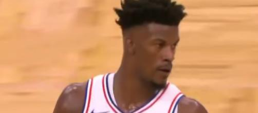 Jimmy Butler led the Sixers to victory on Sunday with a strong performance and game-winner. [Image via NBA/YouTube]