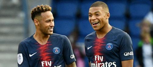 Neymar y Mbappé están lesionados y faltan unos días para el juego ante el Liverpool