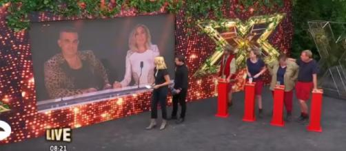 Robbie and Ayda Williams joined the Jungle in the first Live Trial of the series (Image credit: I'm A Celebrity...Get Me Out Of Here/YouTube.com)