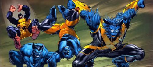 Uma das mutações secundárias mais famosas dos quadrinhos é a forma animal do Fera. (foto reprodução).