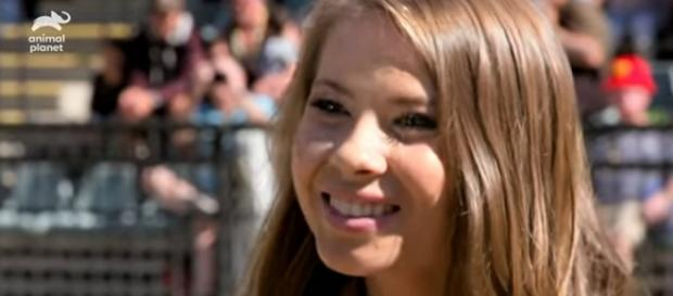 Bindi Irwin is honored by Guinness Book of World Records for conservation followers on social media. [Image Source: Animal Planet - YouTube]