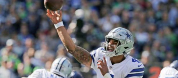 Dak and the Cowboys are rolling right now. [Image via Law Nation/YouTube]