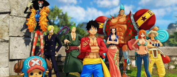"""La serie animada """"One Piece"""" trae divertidas escenas para sus fanáticos."""
