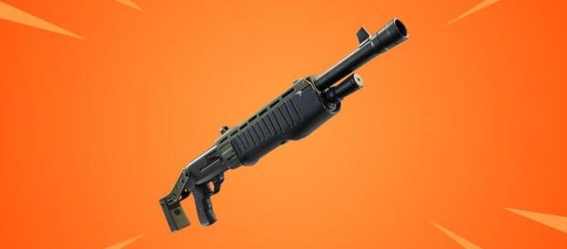 Legendary Pump Shotgun is coming to Fortnite Battle Royale. [Image source: Game data]
