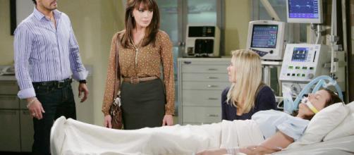 Anticipazioni Beautiful: Katie in ospedale a causa di Brooke e Bill