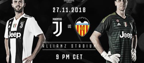 Champions League Juventus-Valencia 27/11/2018 ore 21.00: quote e pronostici.