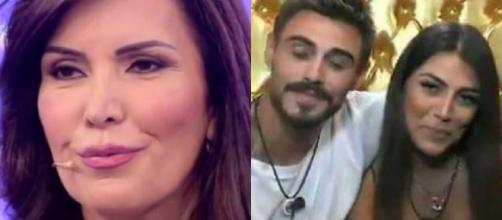 GFVip, Fariba avverte la figlia Giulia Salemi: 'Le fan di Monte ti stanno massacrando fuori'.