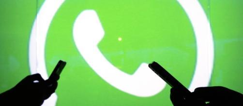 Il logo di WhatsApp, la nota chat di messaggistica istantanea più utilizzata nel mondo