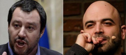 Matteo Salvini ironizza sulla scorta assegnata a Roberto Saviano
