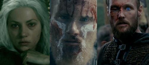 Personagens em Vikings - Reprodução/History
