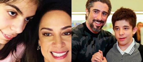 Silvia Abravanel e Marcos Mion são pais de crianças especiais. (foto reprodução).