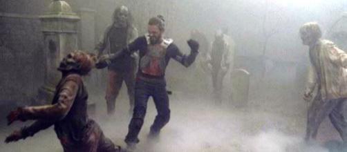 The Walking Dead 9x08, la morte di Jesus e l'arrivo dei Sussurratori