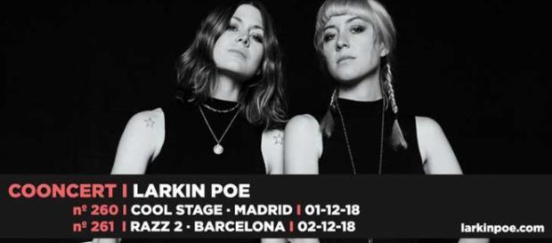 Larkin Poe estará en España presentando su nuevo disco