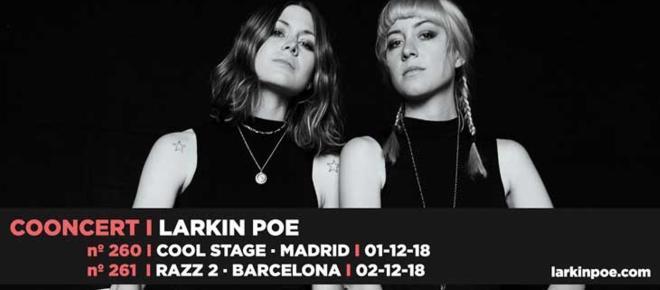 Larkin Poe llega a España para presentar su último disco Venom & Faith