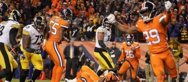 Los Broncos dan tropiezo doloroso a Pittsburgh por marcador de 24-17