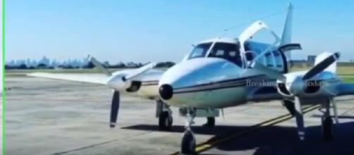'Asleep' pilot overshoots Australian island. [Image source/ Breaking News Today YouTube video]