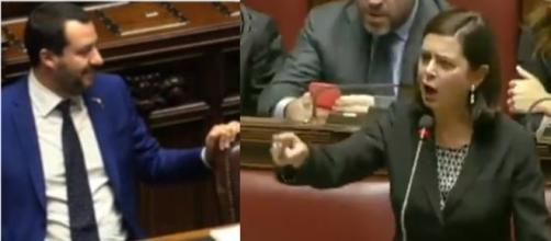 Boldrini-Salvini, un rapporto di antipatia reciproca.