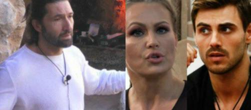 GF Vip: Walter litiga con gli inquilini, la Henger accusa Monte di fare strategia