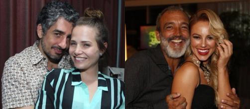 Letícia Colin e Paolla Oliveira se relacionam com homens mais velhos.