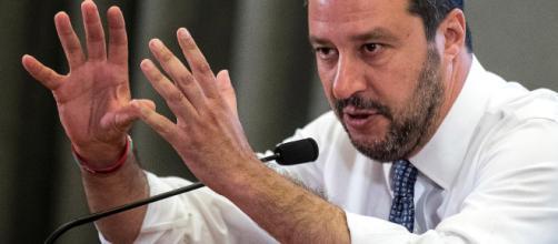 Matteo Salvini intervistato da Barbara D'Urso a Pomeriggio 5.