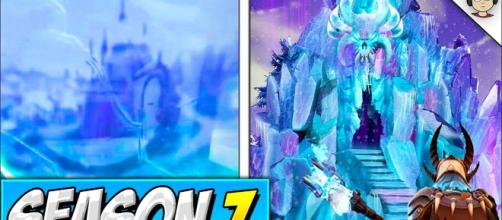 Snow castle is coming to 'Fortnite.' - [Sardar Concepts / YouTube screencap]