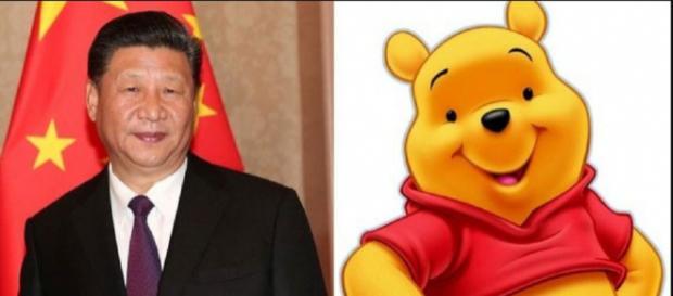 Comparan al presidente de China con Winnie The Pooh. / Twitter