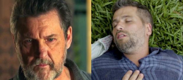 Egidio morre e Gabriel terá que abandonar Luz se quiser assumir o posto de guardião