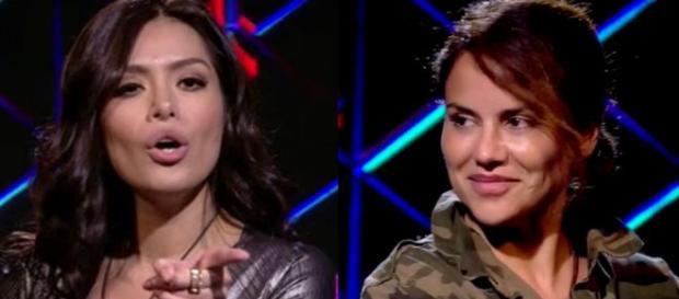 Mónica Hoyos deja ver la incomodidad que causa la presencia de Miriam Saavedra en GH VIP