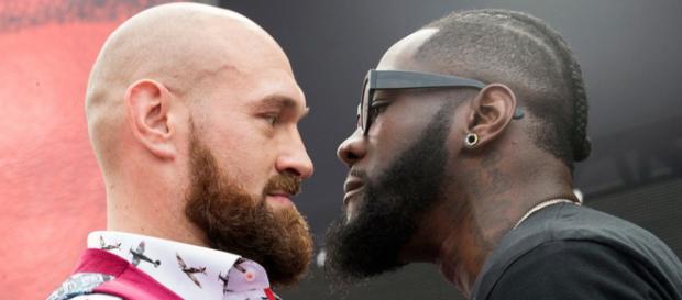 Tyson Fury e Deontay Wilder saranno sul ring sabato prossimo, 1 dicembre
