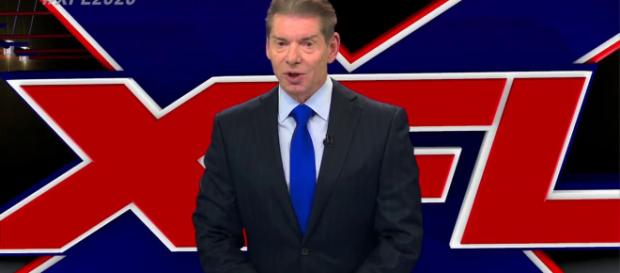 Vince McMahon's XFL 2020 season appears to have its first team location. [Image via ESPN/YouTube]