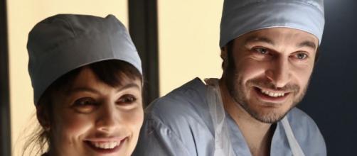 Alice e Claudio, protagonisti della serie tv L'Allieva