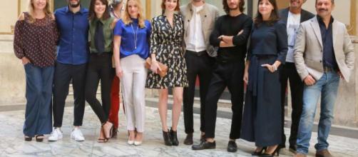Il cast della fiction 'L'Allieva'.