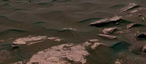 NASA's Curiosity Rover sent this picture of of martial dunes on Mars back in 2017. image credit NASA.com