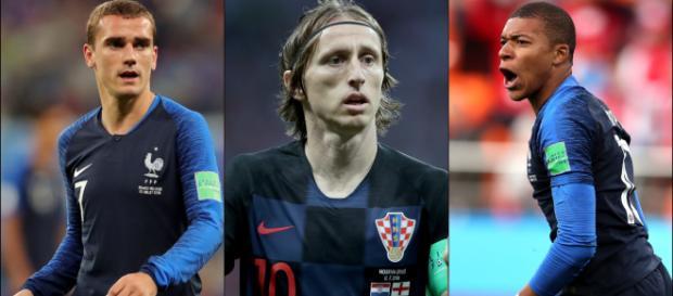 Griezmann v Modric v Mbappe: Ballon d'Or race reaches World Cup ... - stadiumastro.com