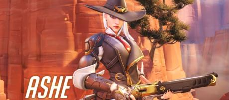Ashe is the 29th playable character joining 'Overwatch's' growing roster [Image Credit: PlayOverwatch/YouTube screencap]