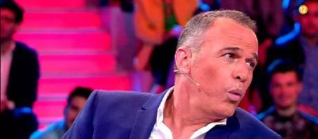 El presentador Carlos Lozano. / Telecinco